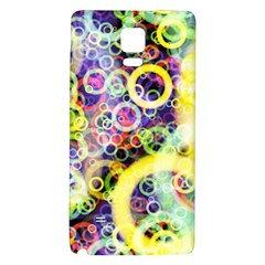 Background Texture Rings Galaxy Note 4 Back Case by Celenk
