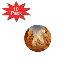 Canyon Desert Landscape Scenic 1  Mini Magnet (10 Pack)  by Celenk