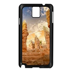 Canyon Desert Landscape Scenic Samsung Galaxy Note 3 N9005 Case (black) by Celenk