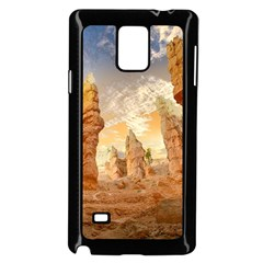Canyon Desert Landscape Scenic Samsung Galaxy Note 4 Case (black) by Celenk