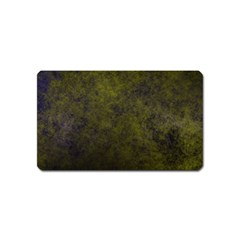Green Background Texture Grunge Magnet (name Card) by Celenk