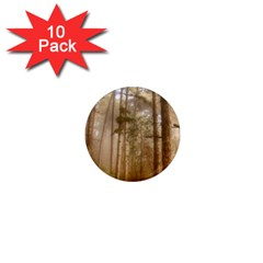 Forest Trees Wood Branc 1  Mini Magnet (10 Pack)  by Celenk