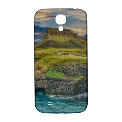 Coastline Waterfall Landscape Samsung Galaxy S4 I9500/i9505  Hardshell Back Case