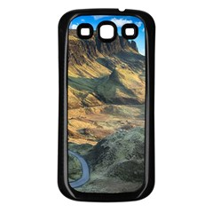 Nature Landscape Mountains Outdoor Samsung Galaxy S3 Back Case (black)