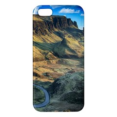 Nature Landscape Mountains Outdoor Iphone 5s/ Se Premium Hardshell Case by Celenk
