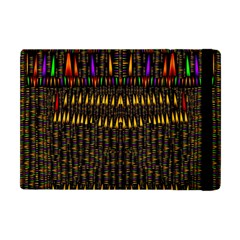 Hot As Candles And Fireworks In Warm Flames Apple Ipad Mini Flip Case by pepitasart