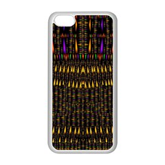 Hot As Candles And Fireworks In Warm Flames Apple Iphone 5c Seamless Case (white) by pepitasart