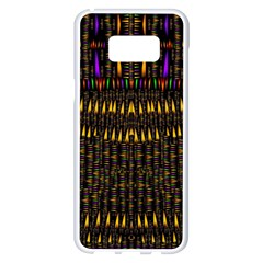 Hot As Candles And Fireworks In Warm Flames Samsung Galaxy S8 Plus White Seamless Case