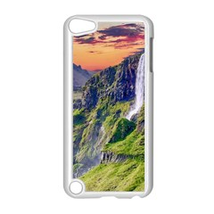 Waterfall Landscape Nature Scenic Apple Ipod Touch 5 Case (white) by Celenk