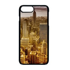 New York Empire State Building Apple Iphone 8 Plus Seamless Case (black) by Celenk