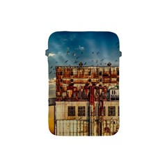 Ruin Abandoned Building Urban Apple Ipad Mini Protective Soft Cases by Celenk