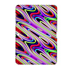 Multi Color Wave Abstract Pattern Samsung Galaxy Tab 2 (10 1 ) P5100 Hardshell Case  by Celenk