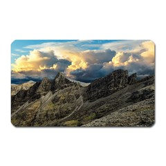 Landscape Clouds Scenic Scenery Magnet (rectangular) by Celenk