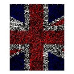Union Jack Flag Uk Patriotic Shower Curtain 60  X 72  (medium)  by Celenk