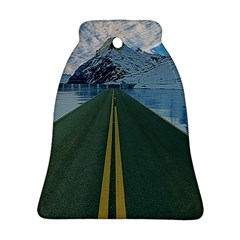 Road Ice Landscape Ornament (bell) by Celenk