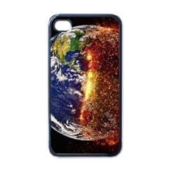 Climate Change Global Warming Apple Iphone 4 Case (black) by Celenk