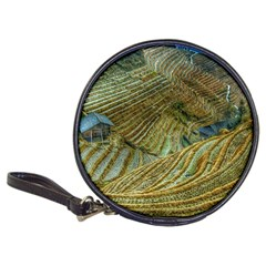 Rice Field China Asia Rice Rural Classic 20 Cd Wallets by Celenk