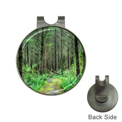Forest Woods Nature Landscape Tree Hat Clips With Golf Markers by Celenk