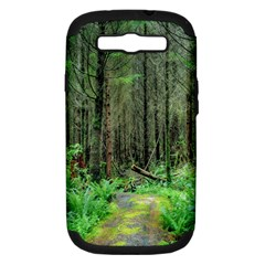 Forest Woods Nature Landscape Tree Samsung Galaxy S Iii Hardshell Case (pc+silicone) by Celenk