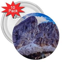 Rock Sky Nature Landscape Stone 3  Buttons (10 Pack)  by Celenk