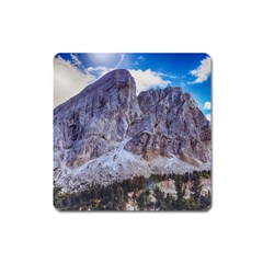 Rock Sky Nature Landscape Stone Square Magnet by Celenk