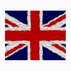 Union Jack Flag National Country Small Glasses Cloth (2 Side) by Celenk