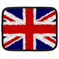 Union Jack Flag National Country Netbook Case (xxl)  by Celenk