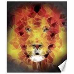 Fractal Lion Canvas 8  X 10  by Celenk