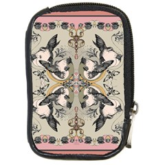 Vintage Birds Compact Camera Cases by Celenk
