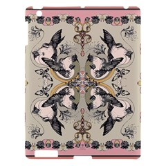 Vintage Birds Apple Ipad 3/4 Hardshell Case by Celenk