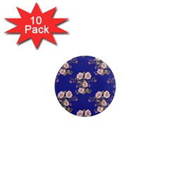 Ndigo Bedding Floral 1  Mini Magnet (10 Pack)  by Celenk