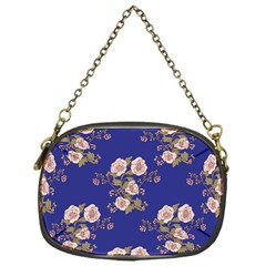 Ndigo Bedding Floral Chain Purses (one Side)  by Celenk
