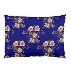 Ndigo Bedding Floral Pillow Case (two Sides) by Celenk