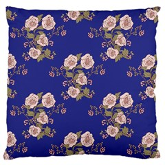 Ndigo Bedding Floral Large Cushion Case (one Side) by Celenk