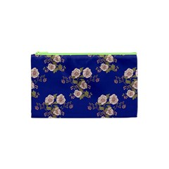 Ndigo Bedding Floral Cosmetic Bag (xs) by Celenk