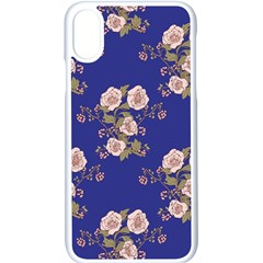 Ndigo Bedding Floral Apple Iphone X Seamless Case (white)