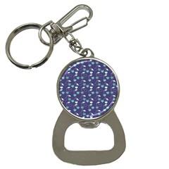 Heart Cherries Blue Button Necklaces by snowwhitegirl