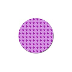 Punk Heart Violet Golf Ball Marker (10 Pack) by snowwhitegirl