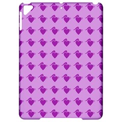 Punk Heart Violet Apple Ipad Pro 9 7   Hardshell Case by snowwhitegirl