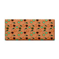 Peach Cherries Cosmetic Storage Cases by snowwhitegirl