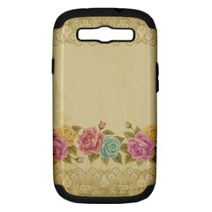 Shabby Country Samsung Galaxy S Iii Hardshell Case (pc+silicone) by 8fugoso