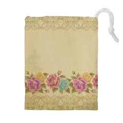 Shabby Country Drawstring Pouches (extra Large)