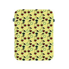 Yellow Heart Cherries Apple Ipad 2/3/4 Protective Soft Cases by snowwhitegirl