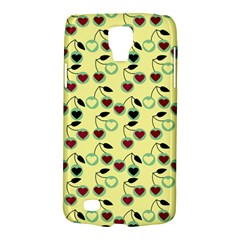 Yellow Heart Cherries Galaxy S4 Active by snowwhitegirl