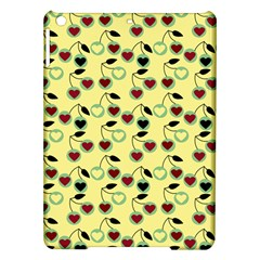 Yellow Heart Cherries Ipad Air Hardshell Cases by snowwhitegirl