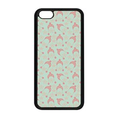 Mauve Winter Hat Apple Iphone 5c Seamless Case (black) by snowwhitegirl