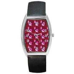 Punk Baby Red Barrel Style Metal Watch by snowwhitegirl