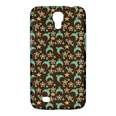 Brown With Blue Hats Samsung Galaxy Mega 6 3  I9200 Hardshell Case by snowwhitegirl
