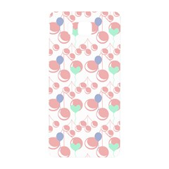 Bubblegum Cherry White Samsung Galaxy Alpha Hardshell Back Case by snowwhitegirl