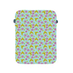Blue Star Yellow Hats Apple Ipad 2/3/4 Protective Soft Cases by snowwhitegirl